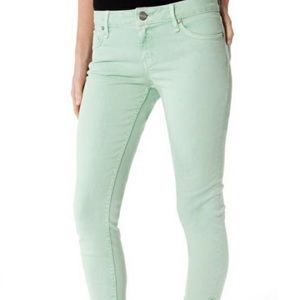 Sanctuary denim Charmer mint green skinny jeans 30